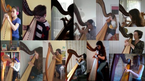 Harpe- Mélodie galloise
