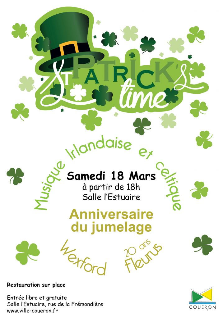Affiche St Patrick