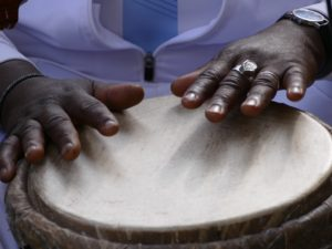 Atelier percussions africaines